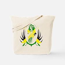 Jamaican Lion Tote Bag