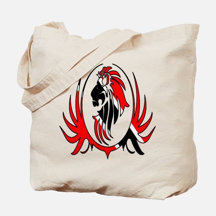 Iron Like Lion Trinidad Tote Bag