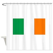 National Flag of Ireland Shower Curtain