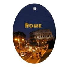 Rome Ornament (Oval)