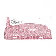 Rome Aluminum License Plate
