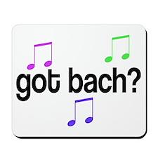 Got Bach Mousepad