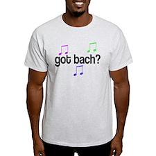 Got Bach Ash Grey T-Shirt