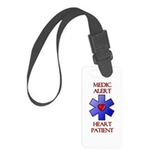 Medic Alert Heart Patient Luggage Tag