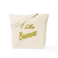 I like Bananas Tote Bag