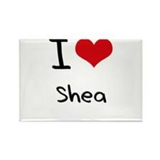 I Love Shea Rectangle Magnet