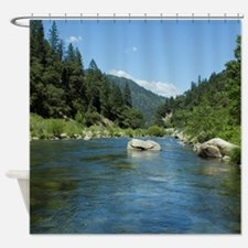 Heart of the Feather River Shower Curtain