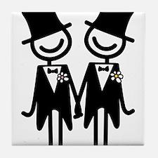 Gay Marriage Tile Coaster