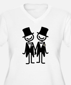 Gay Marriage Plus Size T-Shirt