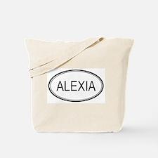 Alexia Oval Design Tote Bag