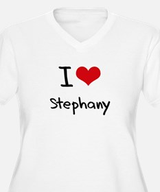I Love Stephany Plus Size T-Shirt