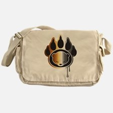 Bear footprint Messenger Bag