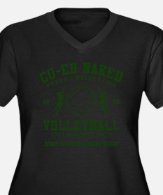 Co-Ed Naked Volleyball Plus Size T-Shirt