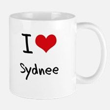 I Love Sydnee Small Small Mug
