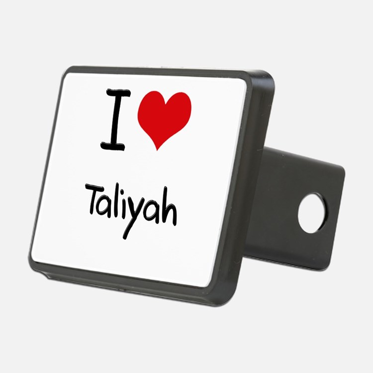 I Love Taliyah Hitch Cover