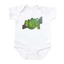 emerald tree boa Infant Bodysuit