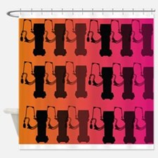 respiratory therapist all ove pink Shower Curtain