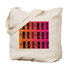 respiratory therapist all ove pink Tote Bag
