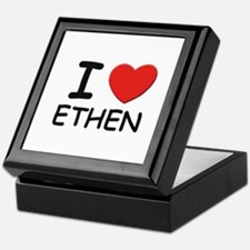 I love Ethen Keepsake Box