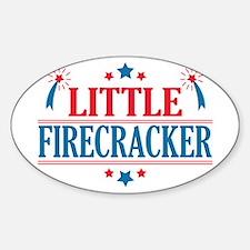 4th of July, Little Firecracker Decal