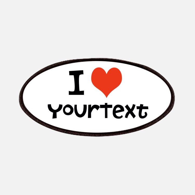 CUSTOMIZE I heart Patches