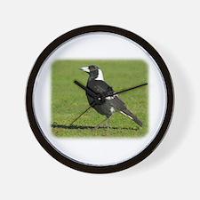 Australian Magpie 9P018D-039 Wall Clock