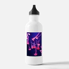 Neon Jellyfish Water Bottle