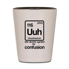 Symbol for Confusion Shot Glass