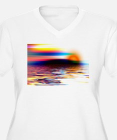 Abstract Horizon T-Shirt