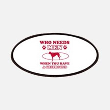 Funny Greyhound lover designs Patches