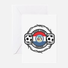 Missouri Soccer Greeting Cards (Pk of 10)