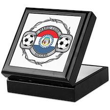 Missouri Soccer Keepsake Box