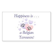 Happiness ia...a Belgian Tervuren Decal