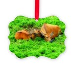 orton two cows2.png Ornament