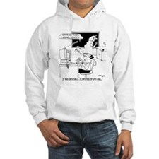 Computerized Spit-Ball Hoodie