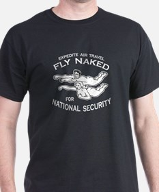 Fly Naked T-Shirt