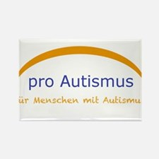 "Autism project ""pro Autism"" Rectangle Magnet"