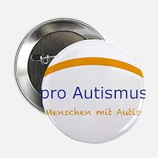 """Autism project """"pro Autism"""" 2.25"""" Button"""