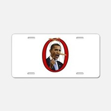 Pinocchiobama Aluminum License Plate