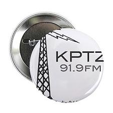 """Radio Port Townsend KTPZ 91.9 2.25"""" Button"""