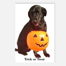 trick or treat Postcards (Package of 8)