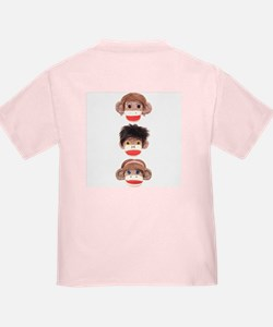 Sock Monkey Trio T