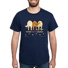 Nothin' Butt Goldens Navy T-Shirt