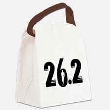26.2 run Canvas Lunch Bag