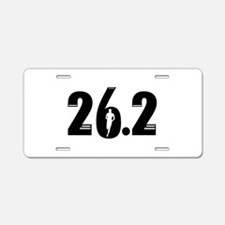 26.2 run Aluminum License Plate