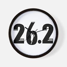 26.2 run Wall Clock
