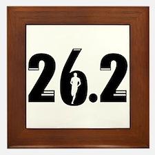26.2 run Framed Tile