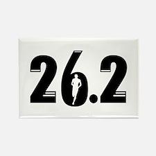 26.2 run Rectangle Magnet