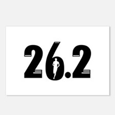 26.2 run Postcards (Package of 8)