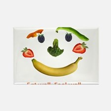 Healthy Diet Rectangle Magnet
